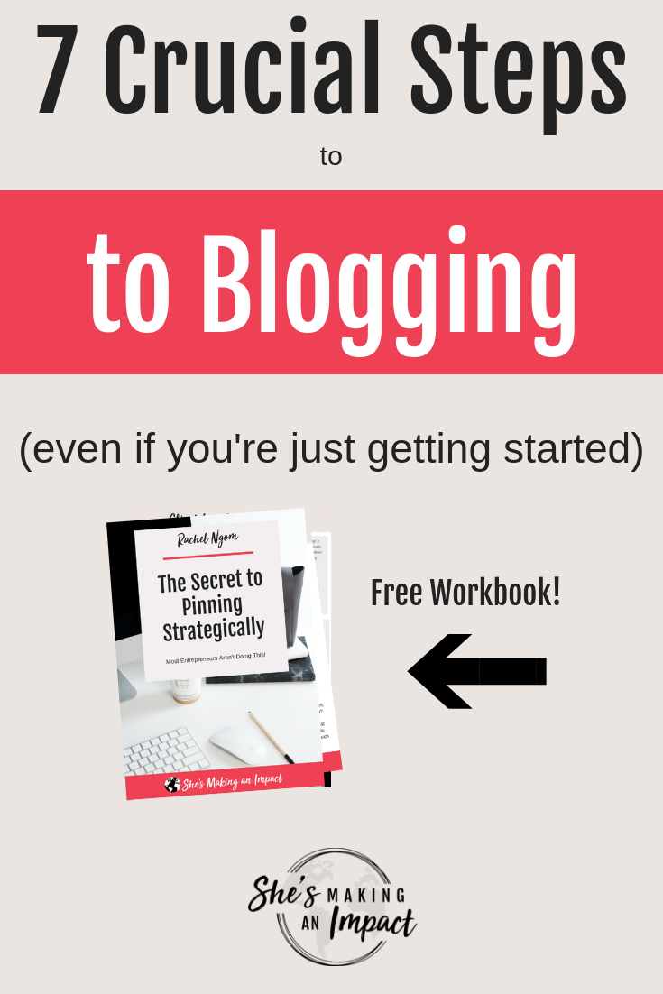 Want to learn step by step how to write blog content? I got you =)If you're an entrepreneur or small business owner who wants to learn the key blogging strategies that will make your posts read thousands of times and drive insane amounts of traffic to your site…this post is for you!Repin and grab my free cheat sheet to get more leads with Pinterest! #shesmakinganimpact #bloggingtips #entrepreneur #entrepreneurtips #blogging #girlboss #onlinebusiness