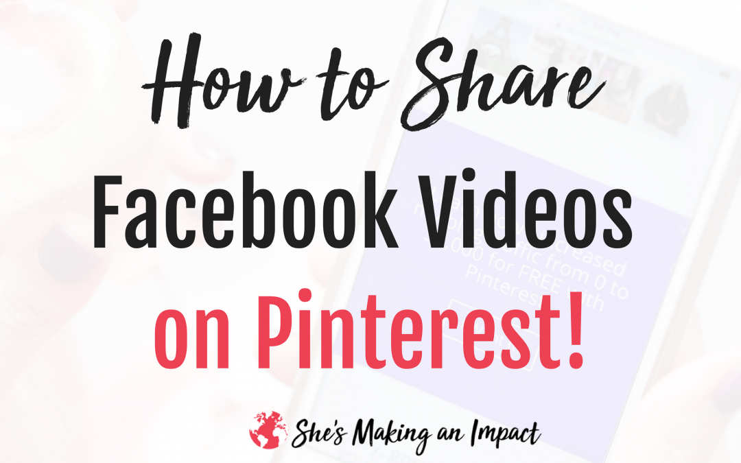 How to Share Instagram Pictures and Facebook Videos on Pinterest to Explode your Traffic on Social Media