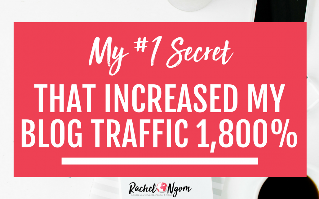 Pinterest Marketing Strategy: My #1 Secret that Increased My Traffic from Pinterest by 1800%