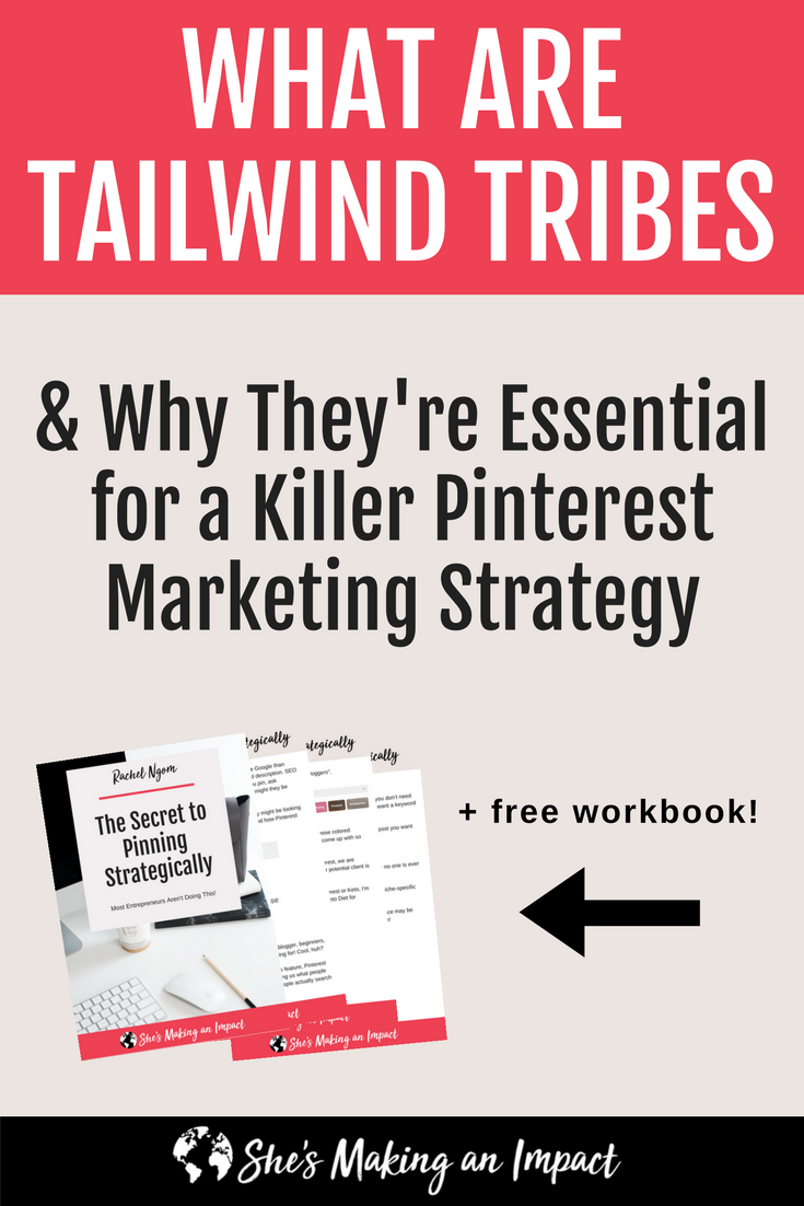 Want to crush it with your Pinterest marketing? You need tailwind tribes! In this post, I\'ll teach you how to get started with tailwind tribes today to make the most out of your Pinterest marketing strategy! Repin and grab my free Pinterest cheat sheet!#shesmakinganimpact #pinterest #blogging #entrepreneur #girlboss #entrepreneurtips #bloggingtips