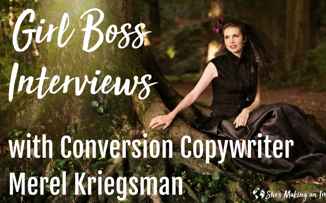 Live Interview with Conversion Copywriter Merel Kriegsman