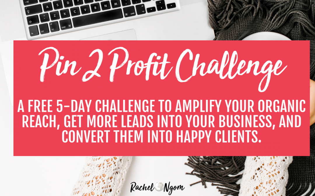 Pin 2 Profit Free 5 Day Challenge