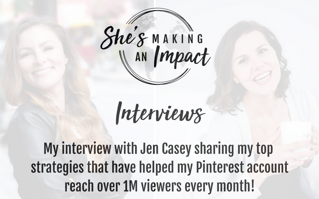 Episode 004 Talking Pinterest Marketing and Secrets With Jen Casey