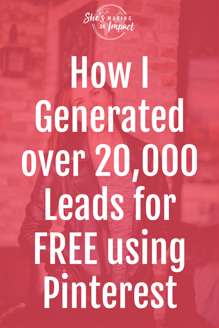 On today\'s episode I'm sharing with you an interview I did on Jen Caseys podcast: Social Media to Sales. We talk about all things Pinterest Marketing! I share it all, including some of my top secret strategies that have helped my Pinterest account reach over 1M viewers every single month! Repin and grab your free cheat sheet to get more leads w/ Pinterest!  online marketing, social media marketing tips, how to earn money online, blogging tips, entrepreneur tips, blogging for beginners, ho...