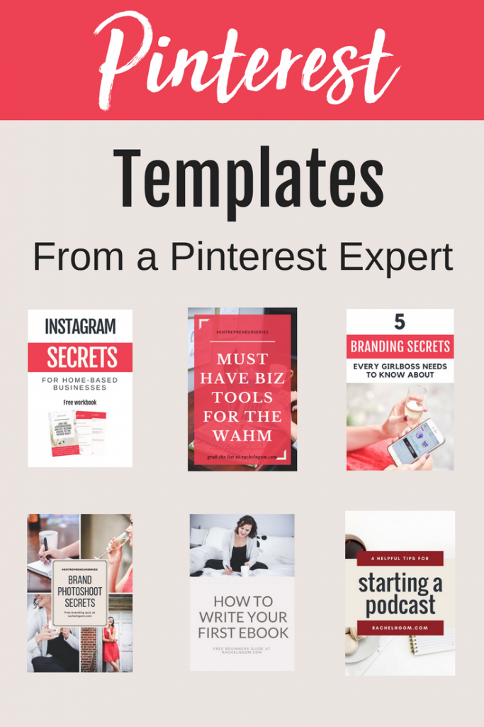 Pinterest templates for the busy girl boss who wants to generate new leads & sales with Pinterest but doesn't have the time, patience, or skills to create killer graphics that actually get repinned. Repin and grab yours now! pinterest marketing, social media strategy, entrepreneur tips, social media tips, pin template