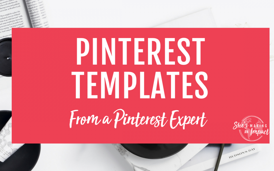 Pinterest Templates are Here! 20 Easy to Customize, High Converting Pins, Ready to Use