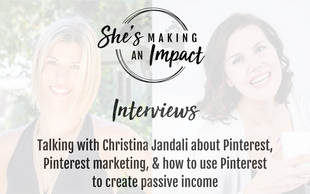 How You Can Use Pinterest to Create Passive Income: Episode 018