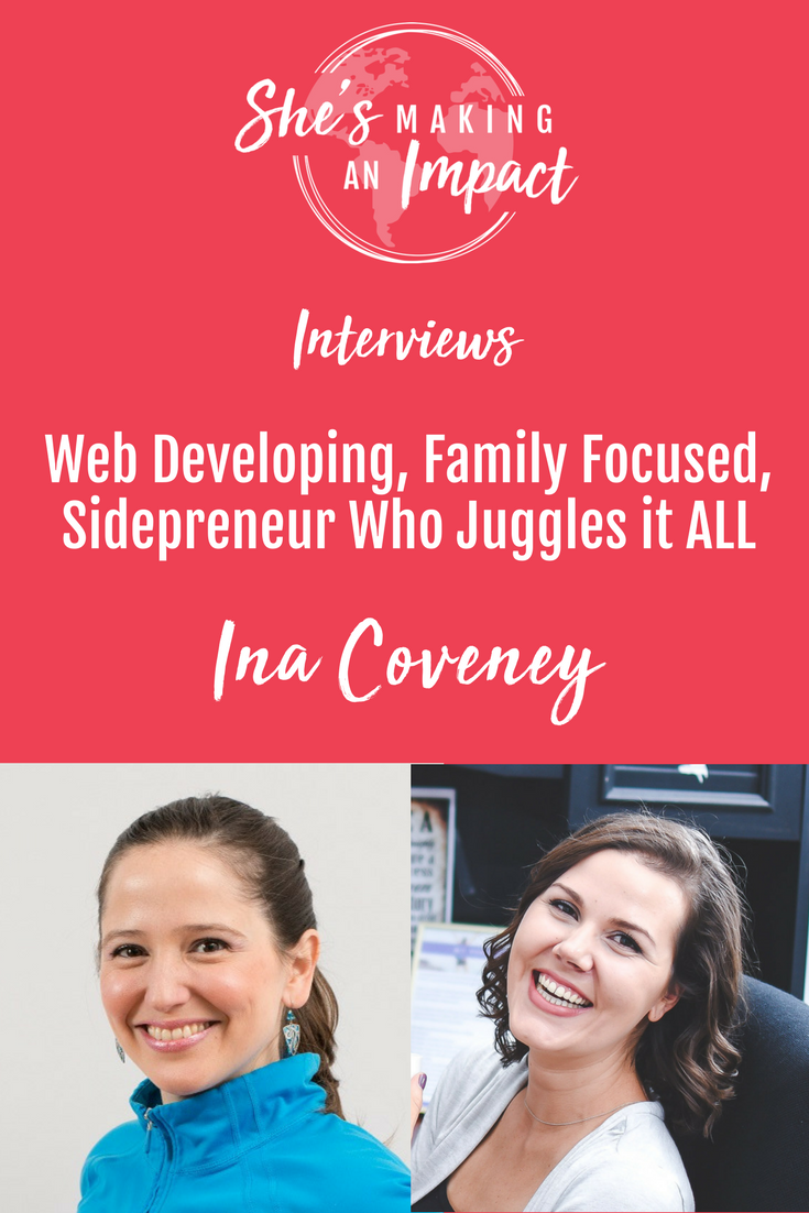 Want to start a side hustle but working full time? This is the episode for you! Ina is going to share her secrets on how to start a side hustle as a busy working mom! Repin and grab your free cheat sheet to get more leads with Pinterest! blogging tips, entrepreneur tips, social media marketing tips