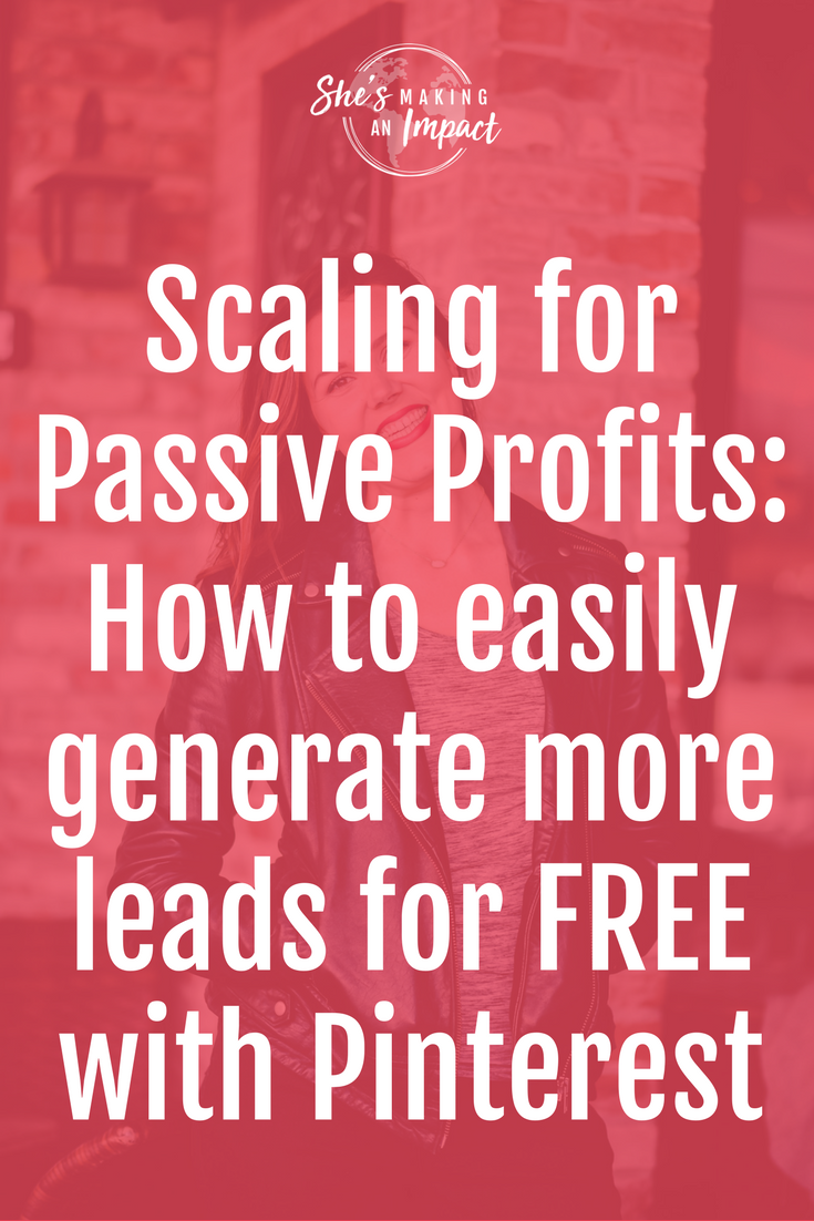 On today's episode, I'm sharing with you a recording I did on Christina Jandali's online summit all about passive income. You'll learn all about Pinterest, Pinterest marketing, how you can use Pinterest to create passive income, and a lot more. Repin and grab your free cheat sheet to get more leads with Pinterest!online marketing tips, how to earn money online, blogging tips, blogging for beginners, entrepreneur tips
