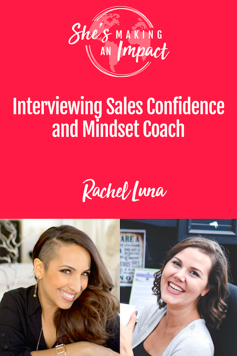 In this interview, we are talking with entrepreneur, Self Confidence & Mindset Coach Rachel Luna. Rachel specializes in sales confidence and mindset for entrepreneurs. You\'ll learn some incredible strategies that you can implement in your business. Repin and be sure to grab our free cheat sheet to get more leads with Pinterest!