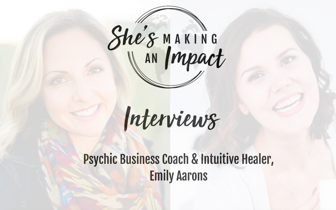 Talking Money Mindset with Intuitive Business Coach Emily Aarons: Episode 043