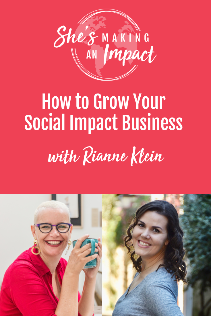 Want to learn how to build a social entrepreneurship business? If you want some ideas and inspiration on how to make an impact with your business and be a social entrepreneur, you need to listen to this episode! Repin and come check out these social entrepreneur ideas! #shesmakinganimpact #socialentrepreneur #onlinebusiness #marketing #entrepreneur