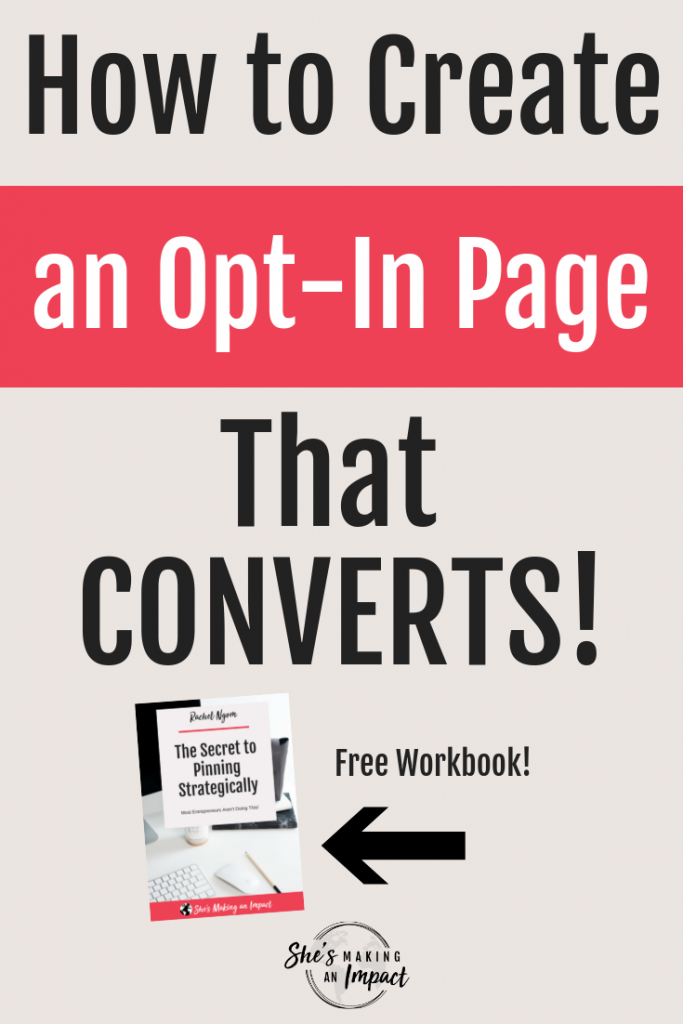 how to create an opt in page that converts