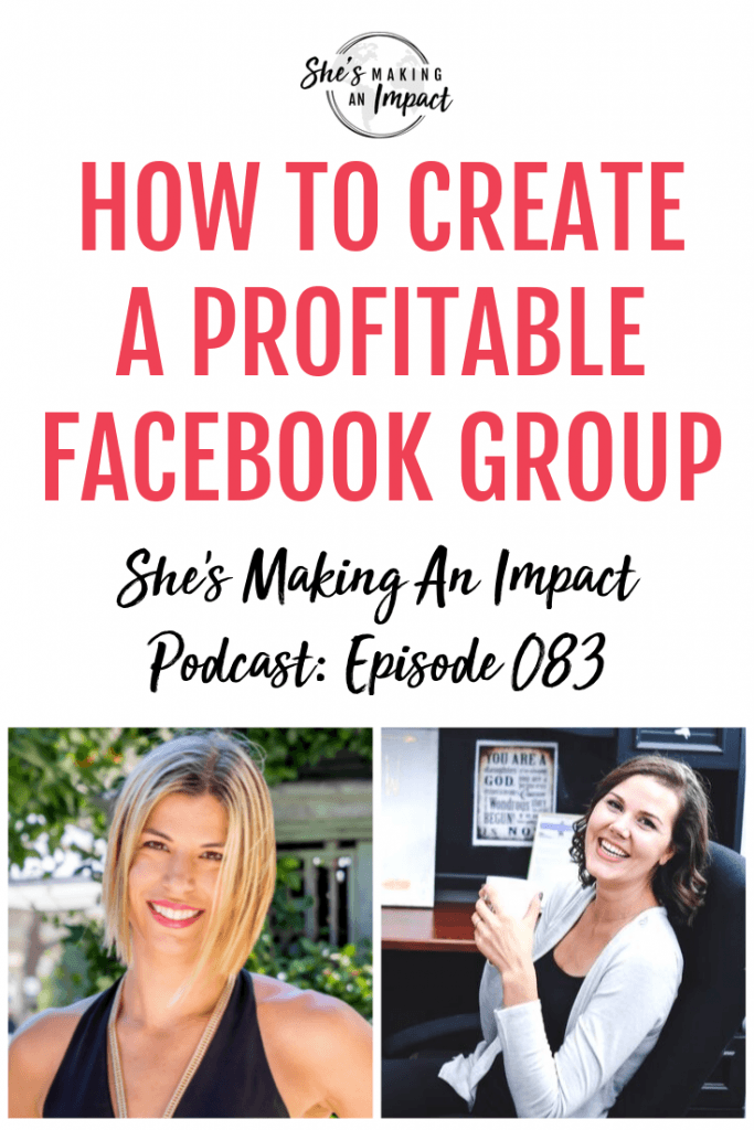 Click to listen this episode of She's Making An Impact Podcast, where we talk to confidence boosting, cash creating, business growth, facebook group specialist Christina Jandali! Repin and grab my free cheat sheet to get more leads for free using Pinterest! #shesmakinganimpact #entrepreneur #entrepreneurtips #girlboss #onlinebusiness #facebook