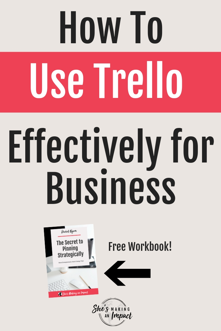 Want to learn how to use trello for blogging? In this post, I'll teach you my top 5 tips on how to use Trello to help you be more organized and productive. Repin and grab my free Trello organization kit! #entrepreneur #blogging #blogger #bloggingtips