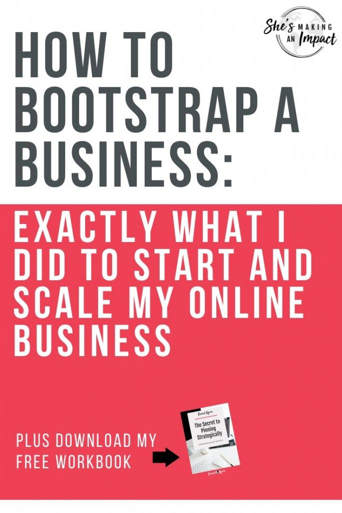 how to bootstrap a business