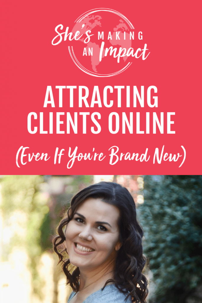Attracting Clients ONLINE (Even If You're Brand New): Episode 141 - If you want to know the secret to attracting clients, this is the episode for you. I've got five tips to help you get started at attracting your ideal client! Grab my free cheat sheet that will give you 10 smart strategies to help you generate more leads and sales on autopilot with Pinterest!