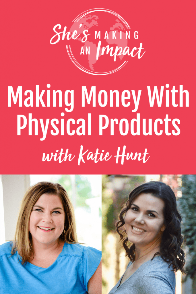 Want to make money with physical products? Questions to ask yourself before you decide: What kind of money are we going to make? What is my time commitment? Am I excited about it? How many people is it going to impact? Repin and get my FREE Pinterest Strategy Cheat Sheet! #shesmakinganimpact #entrepreneurtips #pinteresttips #girlboss #repurposecontent