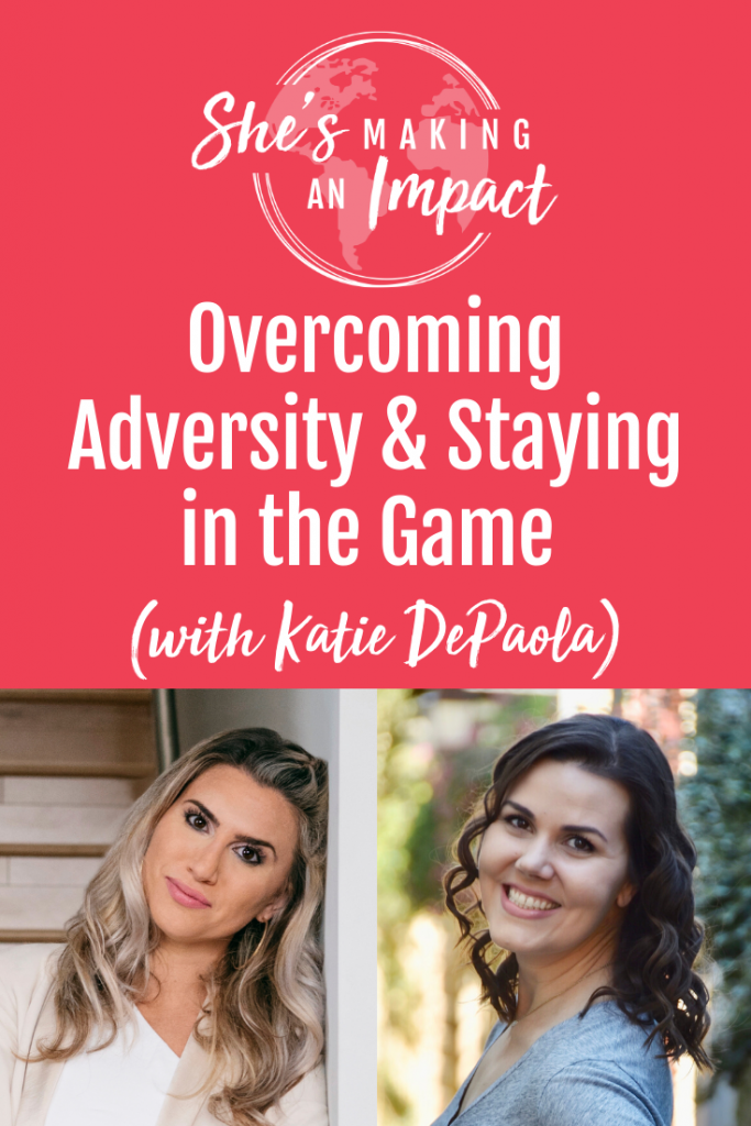 Katie DePaola is the founder and CEO of Inner Glow Circle, a company that helps women who want to work for themselves, not by themselves as an entrepreneur. In this episode of She's Making An Impact, we talk about how to handle changes, why you have to set your goals and be all in, and lots more! Repin and grab my free pinterest cheat sheet! #pinterestmarketing #socialmediamarketing #pinteresttips #femaleentrepreneurtips
