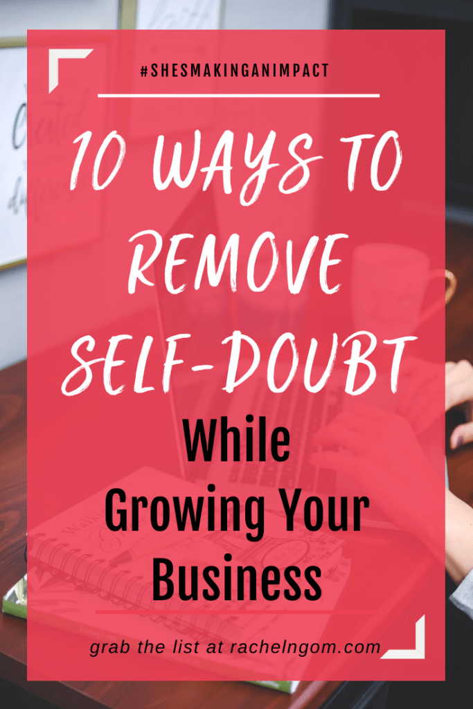 Remove Self doubt Pin