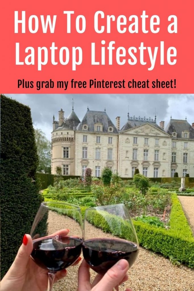how to create a laptop lifestyle