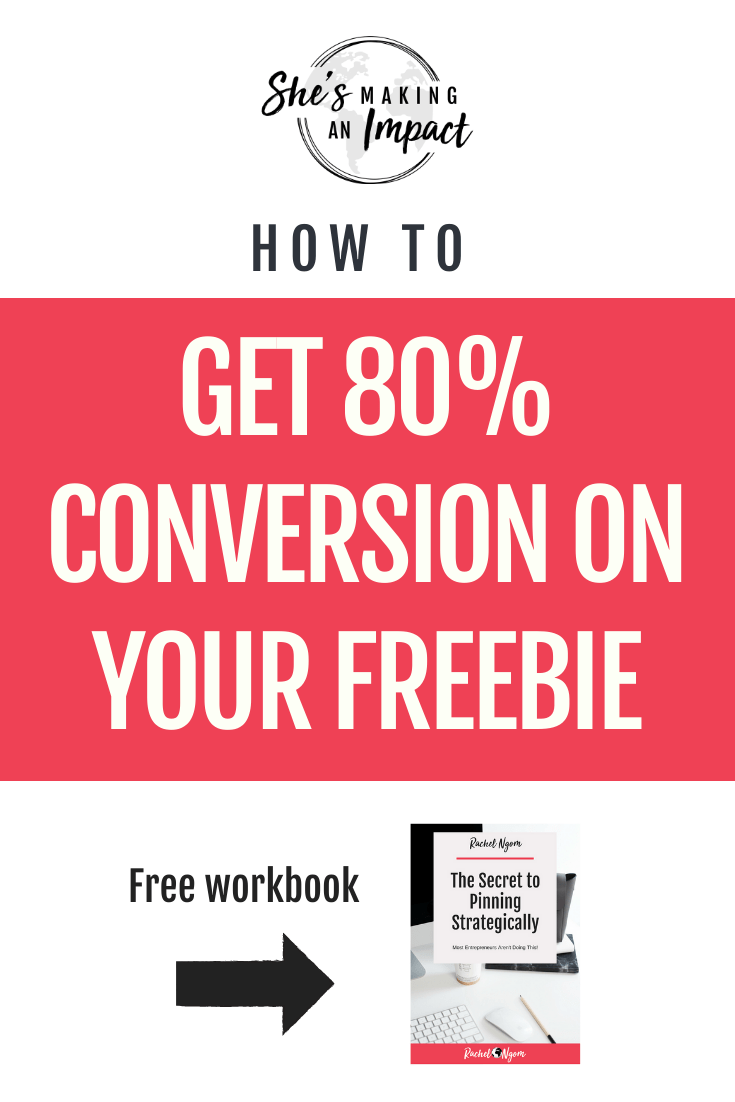 How to Get 80% Conversion On Your Freebie: Episode 282